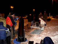Public Mars Observing with AAS at UMD February 10, 2010