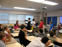 AAS Visits Churchill Elementary School in Cloquet, MN January 7th, 2011